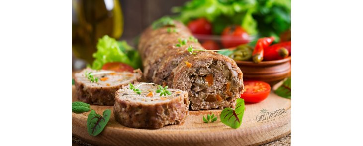 Gluten-Free Meatloaf with Coconut Flour