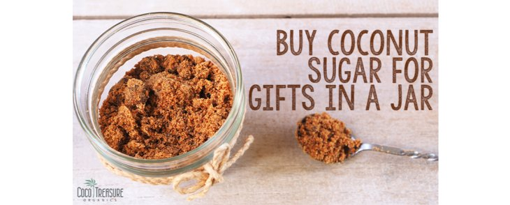 Buy Coconut Sugar for Gifts in a Jar