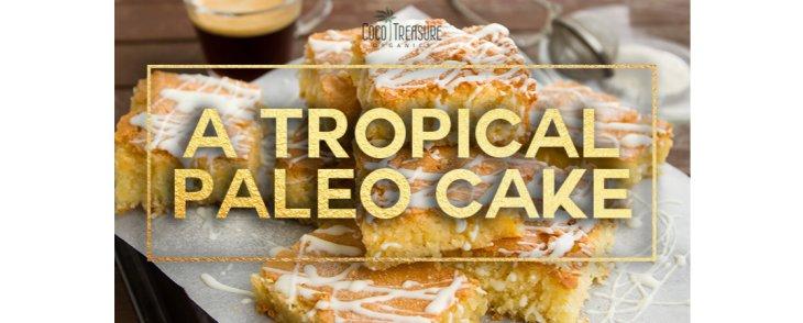 A Tropical Paleo Cake