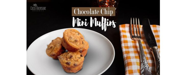 Chocolate Chip Mini Muffins