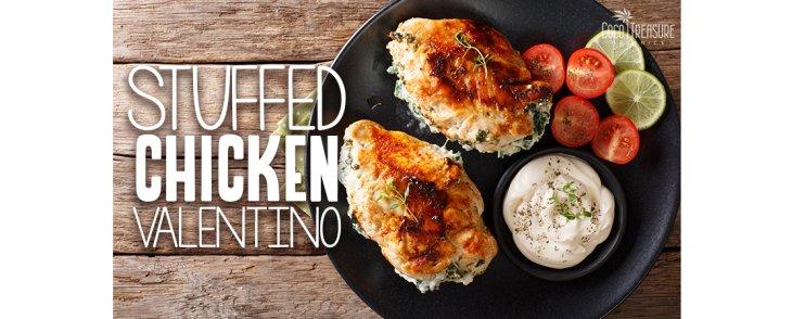 Stuffed Chicken Valentino