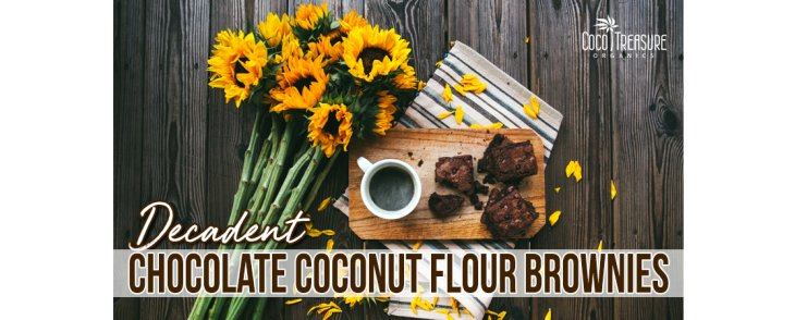 Decadent Chocolate Coconut Flour Brownies