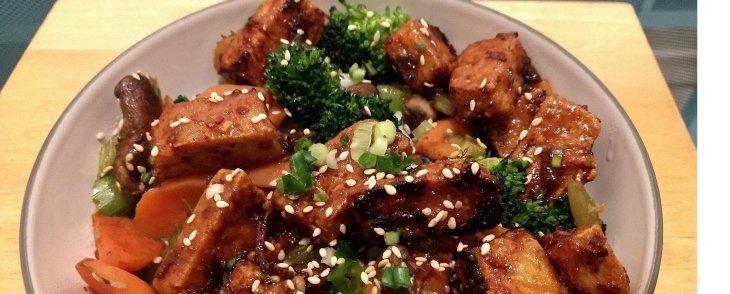 Crispy Tofu Stirfry