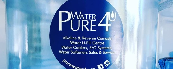 Welcome to Pure Water 4U in Burlington