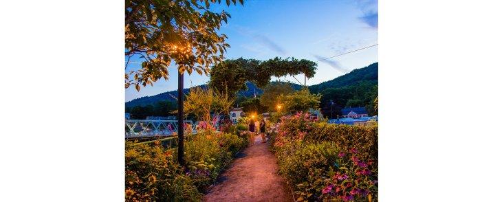 A Bridge of Flowers