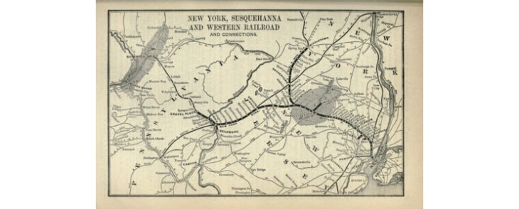 Hackensack as a long-time transit hub - Part 3 - Trains