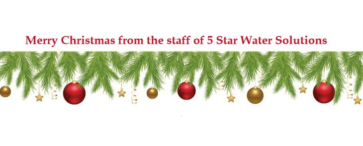 5 Star Water Solution December Promotion