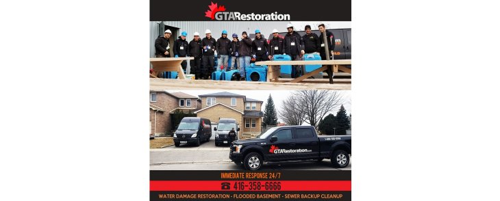 GTA Restoration Water Damage & Mold Removal INC.