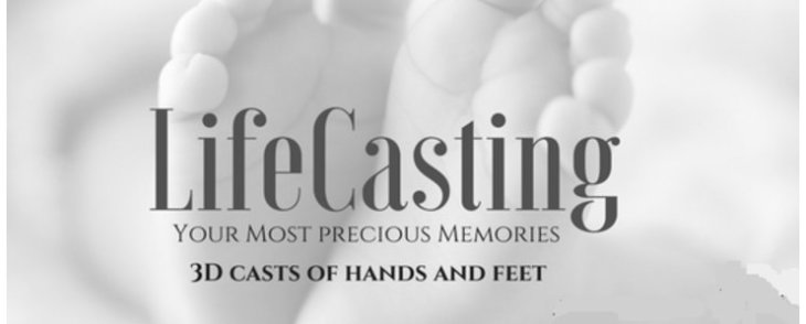 Life Casting - a 3D Exact Replica Of Your Precious Baby's Hand Or Foot