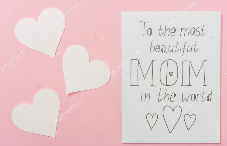For the Beautiful Moms' in the world!