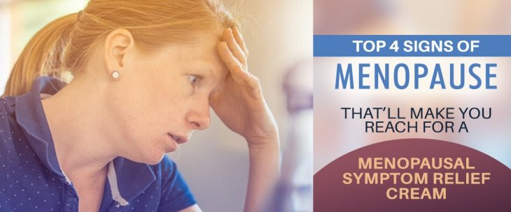 Top 4 Signs Of Menopause That'll Make You Reach For A Menopausal Symptom Relief