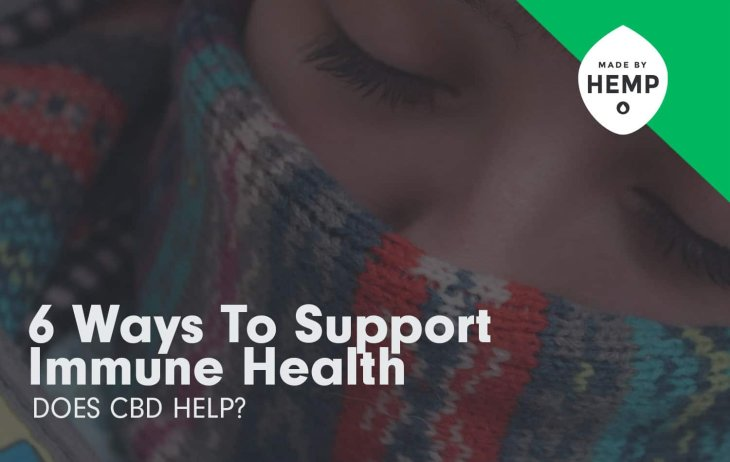 6 Ways to Support Immune Health: Does CBD Help?