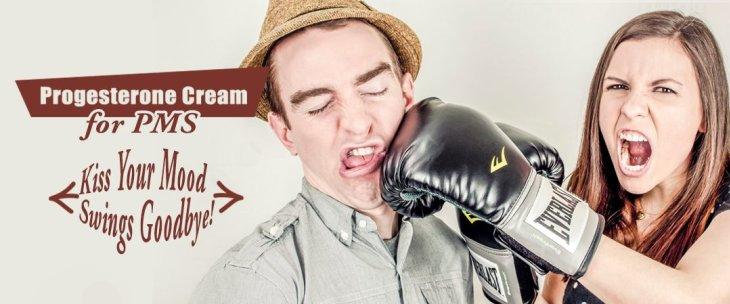 Progesterone Cream For PMS: Kiss Your Mood Swings Goodbye!