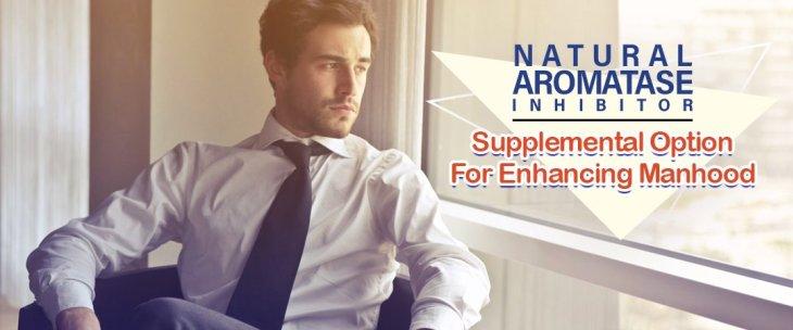 Natural Aromatase Inhibitor: Supplemental Option For Enhancing Manhood
