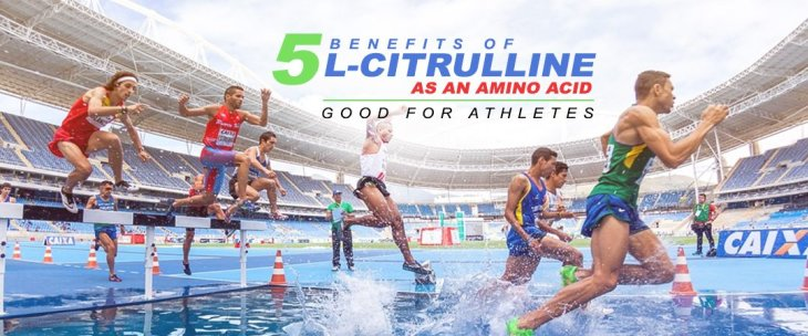 5 Benefits of L-Citrulline as an Amino Acid: Good for Athletes