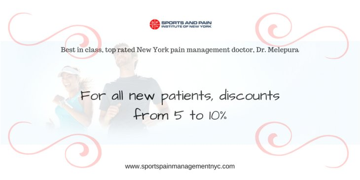 Discount for NEW Patients Sports Injury & Pain Management Clinic of New York