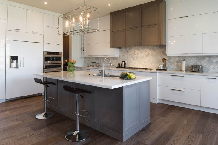 The best modern kitchens and custom design cabinets in Canada