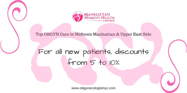 Discount for NEW Patients from Manhattan Women's Health & Wellness