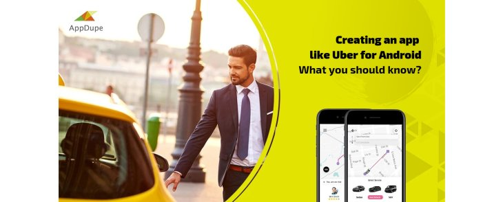 How to setup a ride-hailing app for Android?