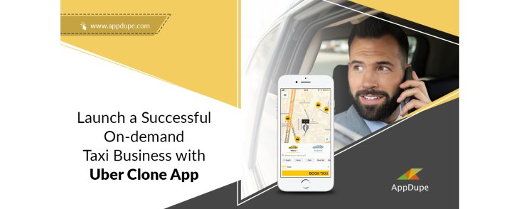 Uber clone app: Build an on-demand taxi business instantly