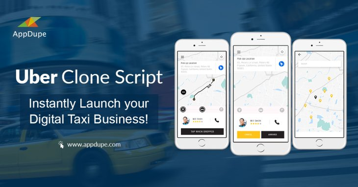 Uber clone script - Instantly launch your taxi business!