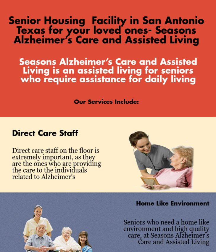 Senior Housing Facility in San Antonio TX for your loved ones