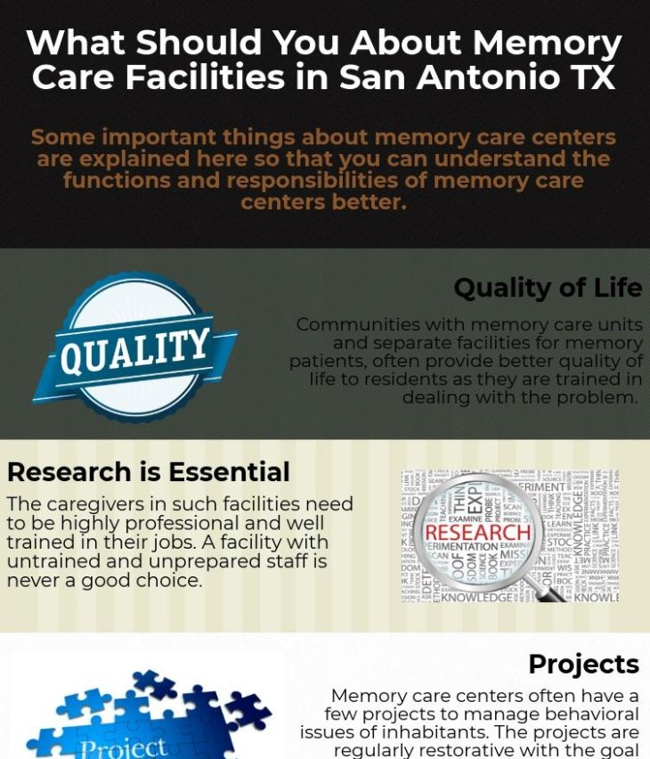 What should you know about Memory Care Facilities in San Antonio TX