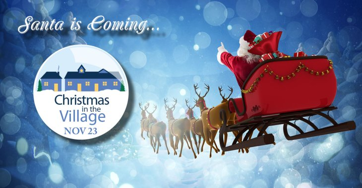 Christmas In The Village Is Coming Nov 23