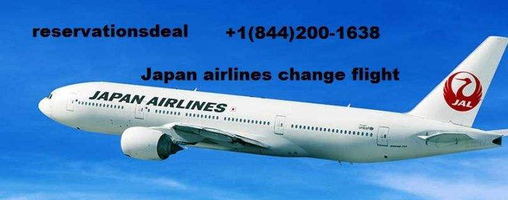 Japan Airlines Change flight