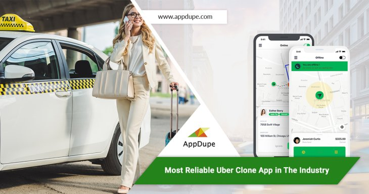Achieve success for your taxi business with an Uber clone app