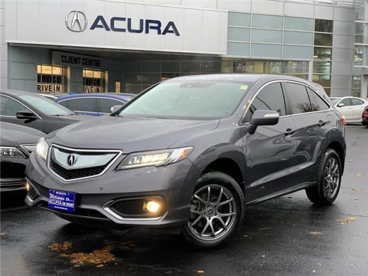 2018 Acura pre-owned RDX Elite SUV $36,989 -Acura On Brant -Burlington, ON