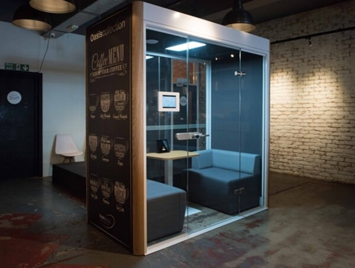 Office Pods aren't only for the office