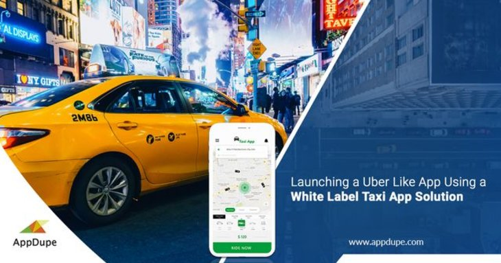 Startup your unique branded ride-hailing app with a white-label solution