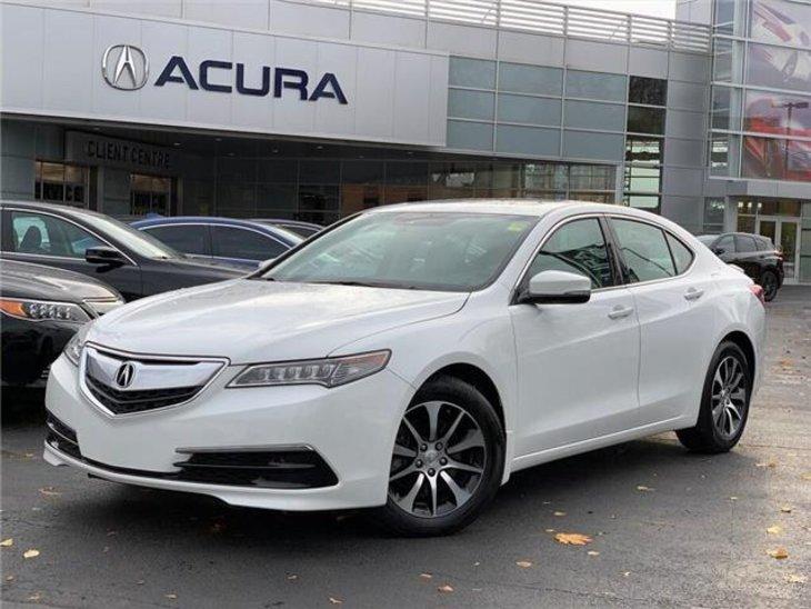 2015 pre-owned Acura TLX Tech $21,289 - Acura On Brant - Burlington, ON