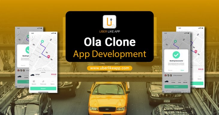 Ola Clone - A simple readymade solution for your new taxi venture