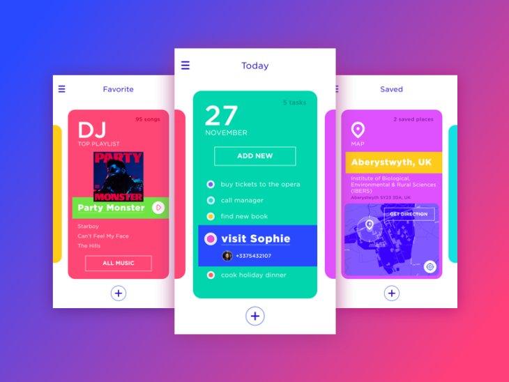Acquaint SoftTech Showcase Mobile App UI Design Services USA