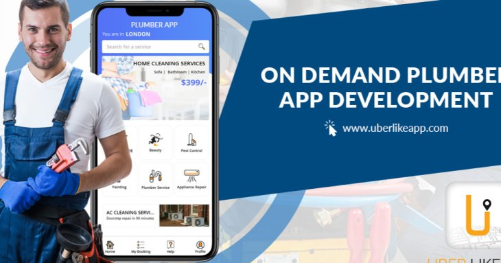 On Demand Plumber App Developmentntent