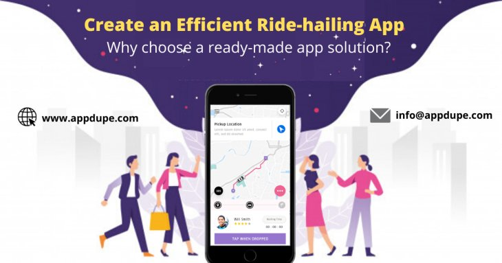 Uber clone app: Efficient solution to create a taxi booking app