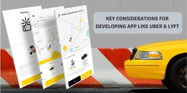 Key aspects to consider for developing app like Uber