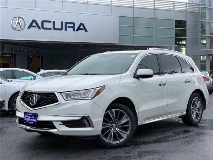 2017 Pre-Owned Acura MDX Elite Package $37,689 Acura On Brant, Burlington, ON