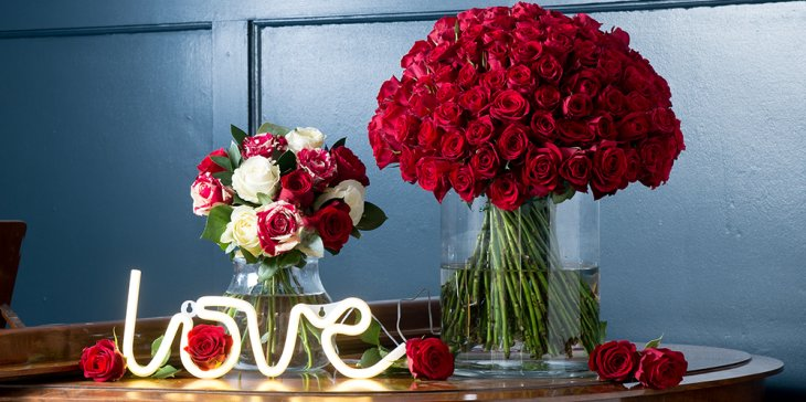 Who to Buy Valentine's Day Flowers for.