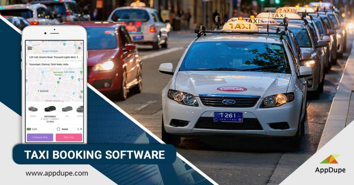 Launch a taxi app for your business with taxi booking software