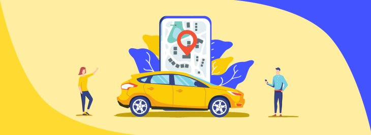 What are the top taxi-hailing apps?