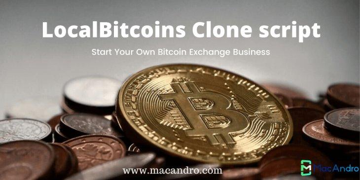 LocalBitcoins Clone Script - MacAndro