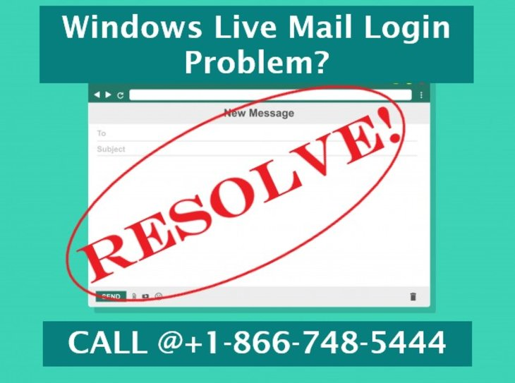 How to Fix Windows Live Mail Login Problem | +1-866-748-5444