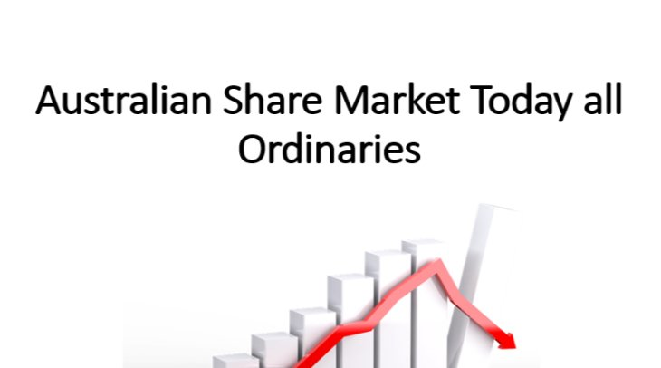 Ezzat Daniel Nesseim - Australian Share Market Today all Ordinaries