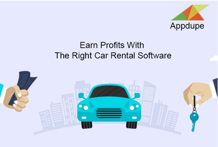 Earn profits with the right car rental software
