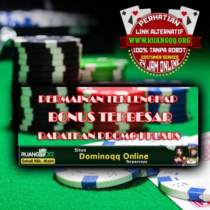 Ruangqq Situs Judi Poker Domino99 Qq Online Bandarqq Terpercaya Qqonline365