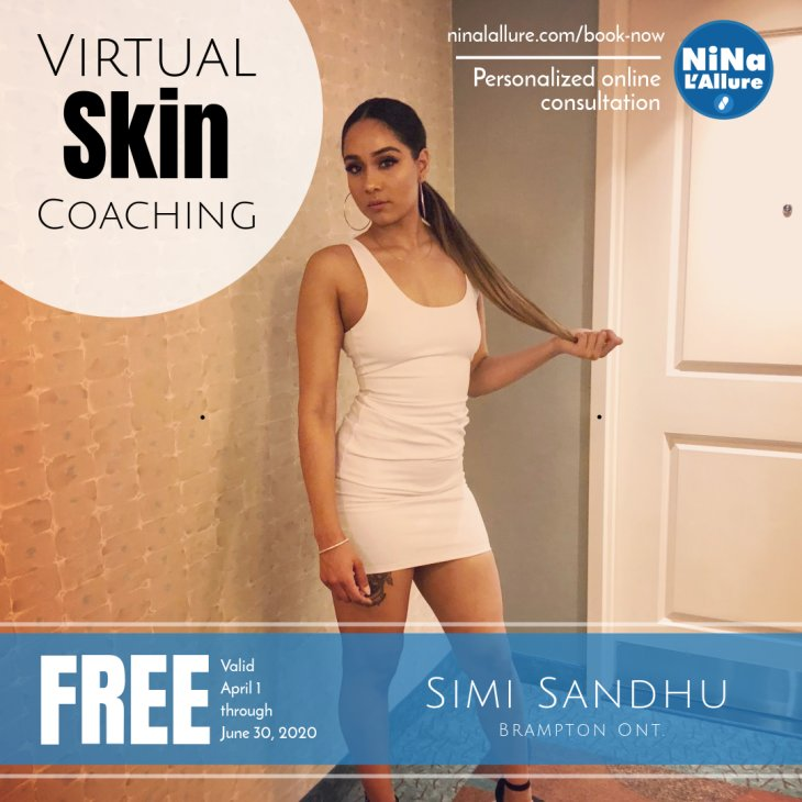 Virtual Skin Coaching with Nina L'Allure