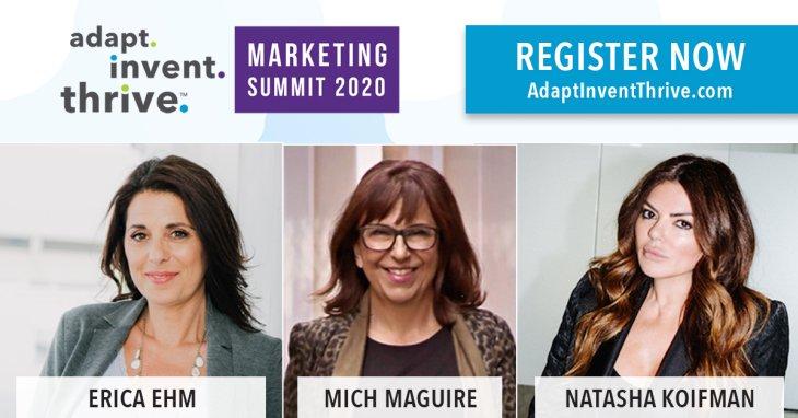 Adapt. Invent. Thrive. Online Marketing Summit | Press Release